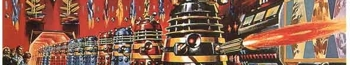 Dr. Who and the Daleks strap image